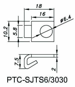 Standard Fastener Joint (half)