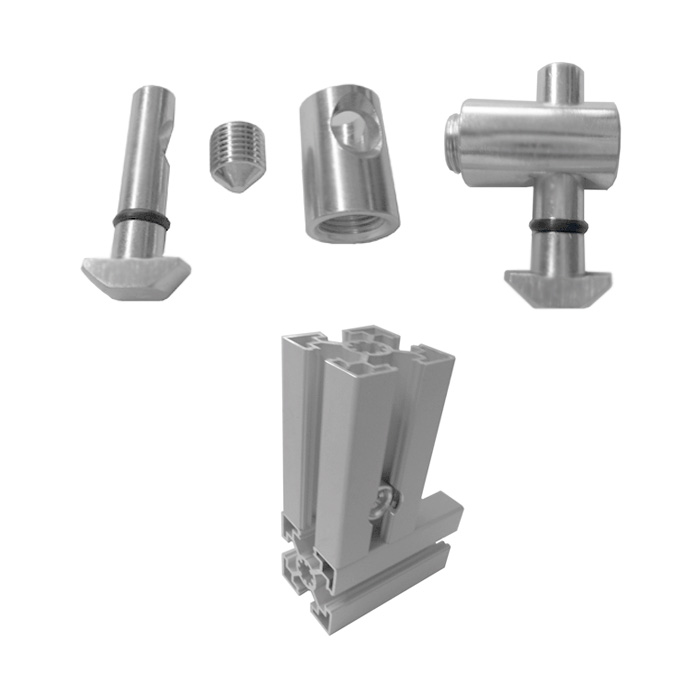 Universal Joint Set PTC-UJT4545-0°
