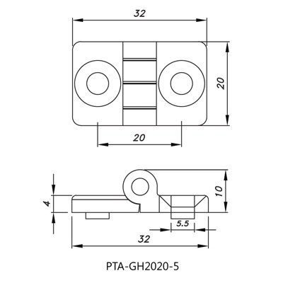 Hinge PTA-GH2020-5