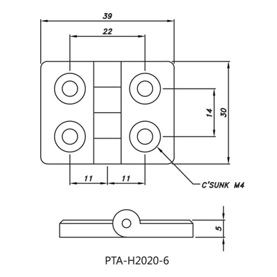 Hinge PTA-H2020-6
