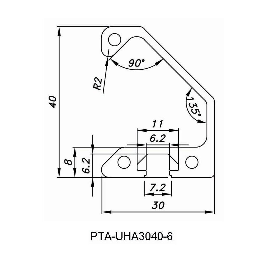 PTA UHA3040-6