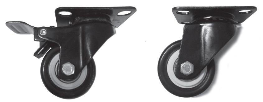 Medium / Light Duty Electrophoresis Caster Wheel