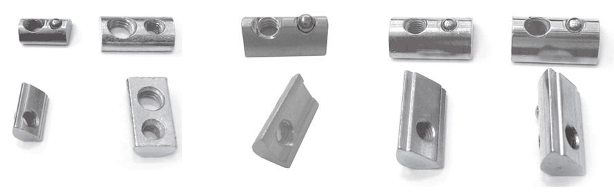 Half Round Nut Material:Zinc Plated Steel